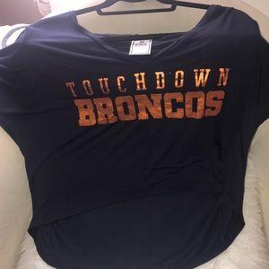 PINK by Victoria's Secret DENVER Broncos shirt